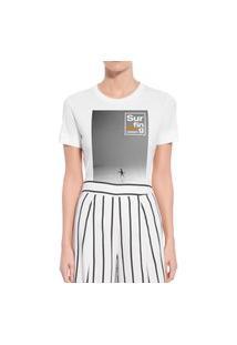 Camiseta Forseti Confort Surfing Branca
