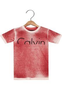 2cabc003e68d4 Camiseta Para Meninos Calvin Klein Conforto infantil   Shoes4you