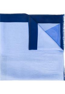 Altea Echarpe De Seda Mocador - Azul