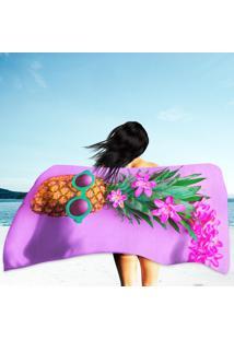 Toalha De Praia / Banho Abacaxi Moderno