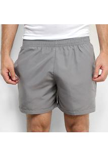 "Shorts Gonew Básico 5"" Masculino - Masculino-Cinza"