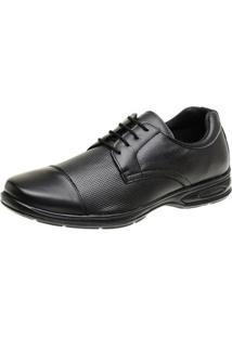 Sapato Social Couro Conforto Macio Leve Dia A Dia San Lorenzo Masculino - Masculino