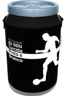 Cooler Para 24 Latas Doctor Cooler Alvinegro - Unissex-Preto