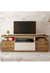 Rack Para Tv Até 60 Polegadas 3 Portas Munique Pinho/Off White - Artely