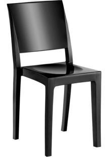 Cadeira De Plástico Hydra Preta
