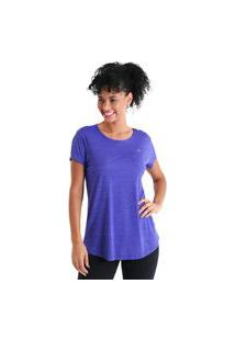 Camiseta Feminina Levíssima Energy - Roxo - Líquido