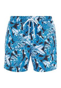 Bermuda De Praia Boss Barracuda Azul