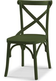 Cadeira X 87 Cm 901 Verde Musgo - Maxima
