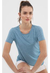 Camiseta Gap Drapeado Azul - Kanui