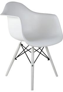 Cadeira Charles Eames Com Braço Ii Branca