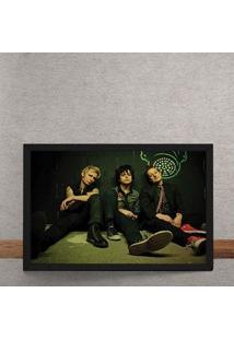Quadro Decorativo Green Day 25X35