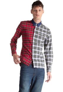 Camisa Levis Pieced Sunset One Pocket - L