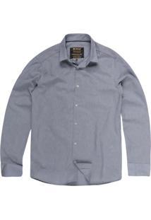 Camisa Khelf Tricoline Azul Claro