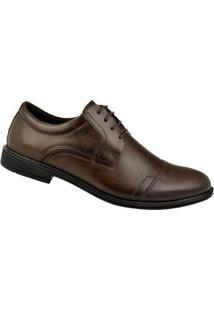 4069e09b23 Sapato Social Couro Ferracini Bolonha Masculino - Masculino-Marrom