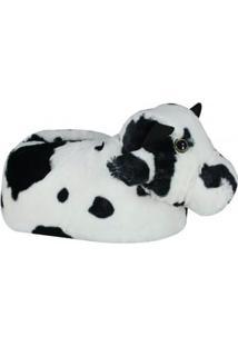 Pantufa Pé Quentinho Vaca
