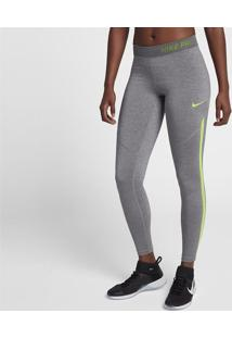 4117626316ace Legging Nike Pro Hypercool Tight Heather Feminina