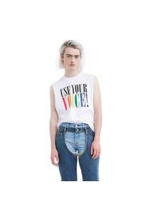 Camiseta Levis Community Sleeveless Branco