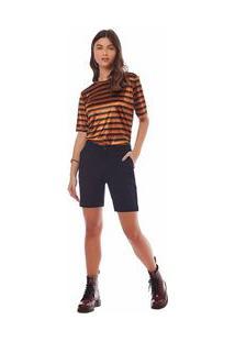 Bermuda Slim Bolso Faca Jeans 34