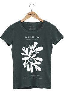 Camiseta Forseti Estonada Arruda Verde