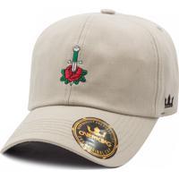 Boné Overking Dad Hat Strapback Old School Rose Bege efe4de244d194