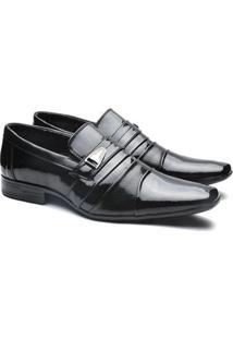 Sapato Social Versales Confort Detalhes Metal Tresse Masculino - Masculino
