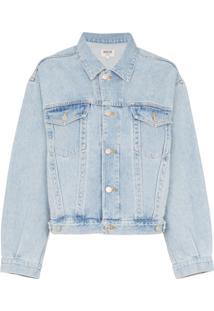 Agolde Jaqueta Jeans - Azul