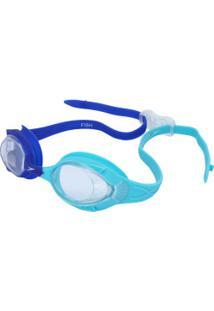 Óculos De Natação Speedo Fish - Infantil - Azul Esc/Azul Cla