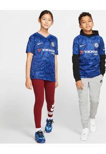 Camisa Nike Chelsea I 2019/20 Torcedor Infantil