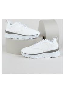 Tênis Feminino Zatz Sneaker Chunky Branco