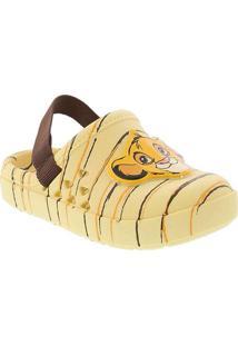 Babuche Disney Love O Rei Leão Amarelo Amarelo