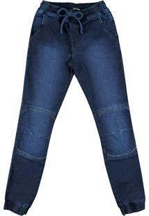 Calça Jeans De Elástico Ser Garoto Jeans
