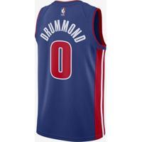 Nike Store. Regata Nike Detroit Pistons Icon Edition Swingman Masculina 3c0e4868e5ee7
