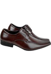 Sapato Bigioni Social Sola Borracha Masculino - Masculino-Marrom