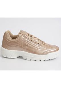 Tênis Feminino Chunky Sneaker Tratorado Logus