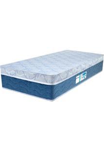 Colchão Solteiro Pillow Top Prodormir Blue - Probel - Branco / Azul