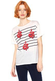 Camiseta Listras Snake feminina   Shoes4you 985e9c22a6