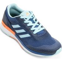 70e932ba96d Tênis Adidas Mana Bounce 2 Feminino - Feminino-Azul Claro+Laranja