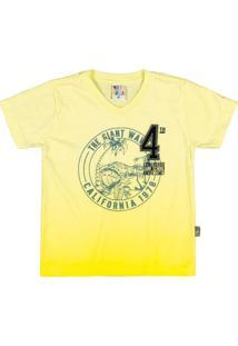 Conjunto Masculina Menino - Masculino-Amarelo