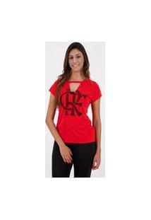 Camiseta Flamengo Choker Feminina