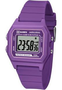Relógio Digital Quartz Xlppd030Bxux- Roxo & Lilás-X-Orient