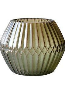 Castiçal De Vidro Urban Chinese Ballon Marrom
