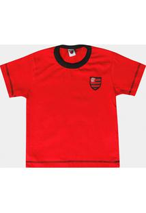 Camiseta Flamengo Infantil Cores Clube - Masculino 4f89448150fb4
