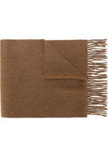 N.Peal Cachecol De Cashmere - Brown