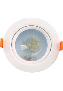 Spot De Embutir Redondo Branco 5W - Lm327 - Luminatti - Luminatti