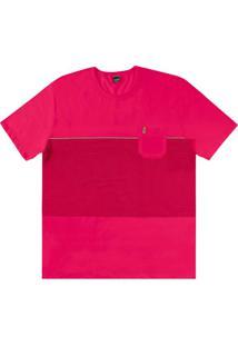 c0c4b99be5 Camiseta Couro Listras masculina
