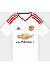 Camisa Manchester United Infantil Away 15/16 S/Nº - Torcedor Adidas - Masculino