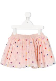 Stella Mccartney Kids Star Pattern Tutu - Rosa