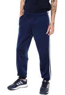 Calça Adidas Performance Ess 3S T Azul-Marinho