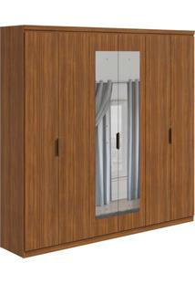 Guarda-Roupa Casal Com Espelho Alonzo 6 Pt 6 Gv Rovere