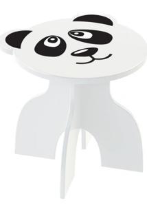 Banquinho Junges Panda Branco